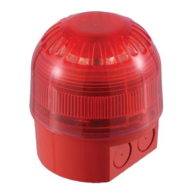 UTC Fire & Security AS367 Sounder-Beacon, Multi Tone, Deep Base