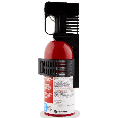 First Alert AUTO5 compact car fire extinguisher