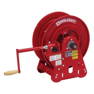 Reelcraft BH37112 L 1 in. x 50 ft. Heavy Duty Bevel Crank Hose Reel
