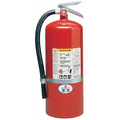 Badger 10MB-8H multipurpose fire extinguisher