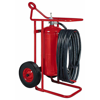 Badger 50MB wheeled dry chemical fire extinguisher