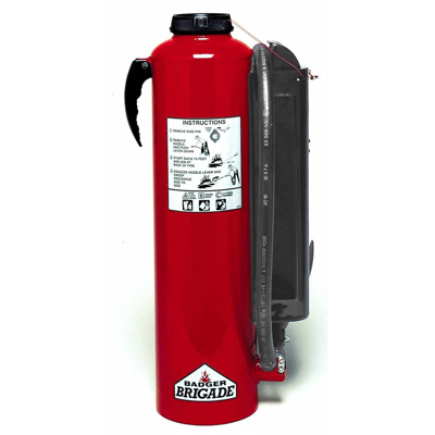 Badger B-10-RG carbon dioxide cartridge-operated extinguisher