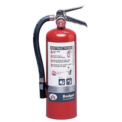 Badger B10BC stored pressure fire extinguisher