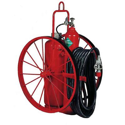 Badger B125K-1 dry chemical wheeled extinguisher