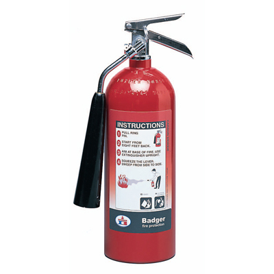 Badger B15V-1 carbon dioxide fire extinguisher