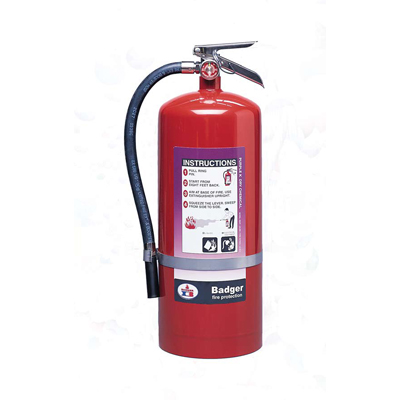 Badger B250P Purple K dry chemical fire extinguisher