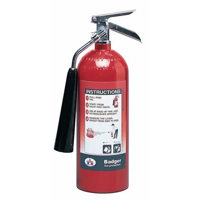 Badger B5V-1 carbon dioxide self-expelling extinguisher