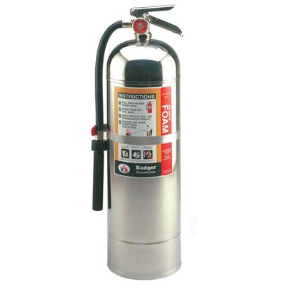 Badger F-250 AR-AFFF fire extinguisher