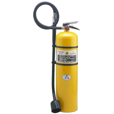 Badger WB570 dry powder stored pressure extinguisher