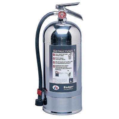 Badger WC-250 wet chemical stored pressure extinguisher