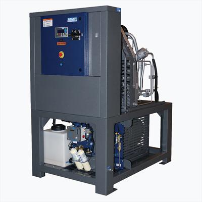Bauer Compressors H80-E3 high pressure breathing air compressor