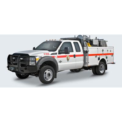 BFX Fire BFX SUPPORT TRUCK 662 wildland engine