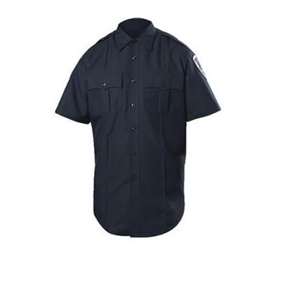 Blauer STYLE #:8610-Z SS zippered polyester shirt colour: Dark Navy