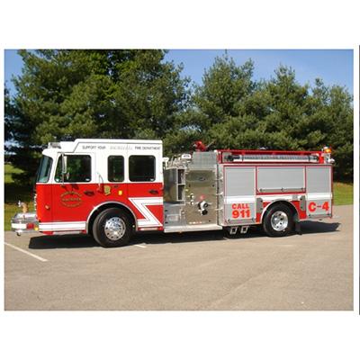 Bluegrass Fire Apparatus 1000 GALLON STAINLESS STEEL TANK