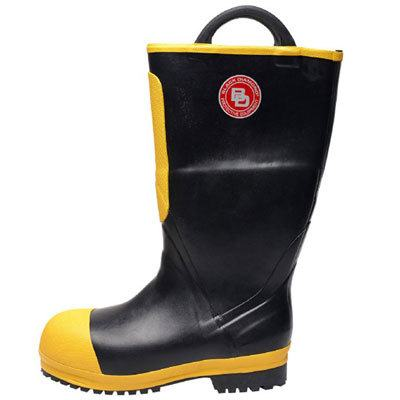 Bristol Uniforms BOOT39 rubber NFPA fire boot