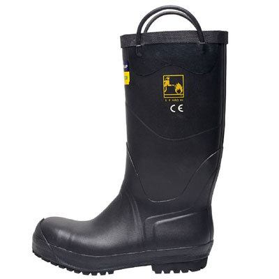 Bristol Uniforms BOOT9 rubber fire boot