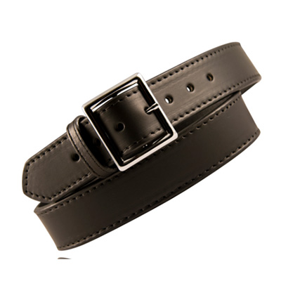 "Boston Leather 6505ST 1 3/4"" STITCHED GARRISON BELT"