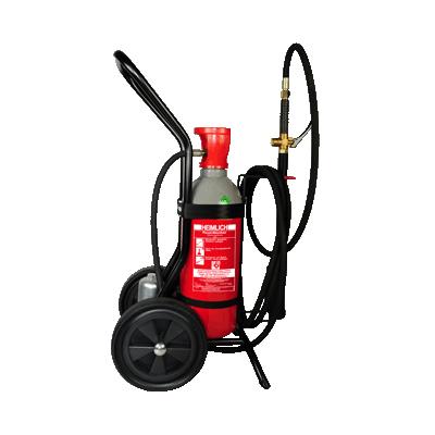 Brandschutz Heimlich SECRETLY C 10 CO2 fire extinguisher