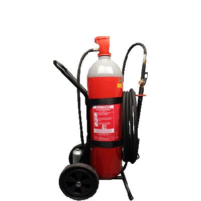 Brandschutz Heimlich SECRETLY C 30 CO2 fire extinguisher