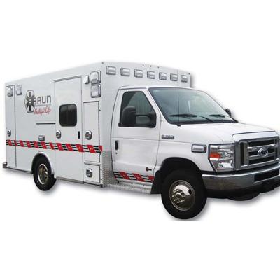 Braun Industries Inc. Signature Ford E-350(G) ambulance