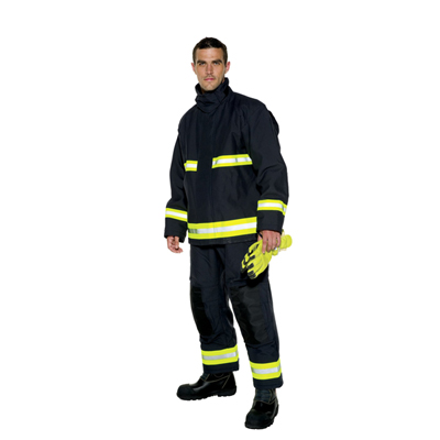 Bristol Uniforms Ergotech Action structural firefighting coat and trouser