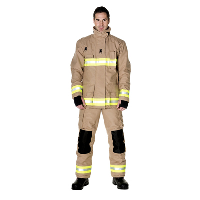 Bristol Uniforms North American Style NFPA structural firefighting coat and trouser