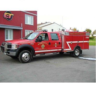 CET Fire Pumps Brush Truck 13 Ford Cab & Chassis