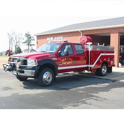 CET Fire Pumps Brush Truck 18 CET Quick Attack Unit