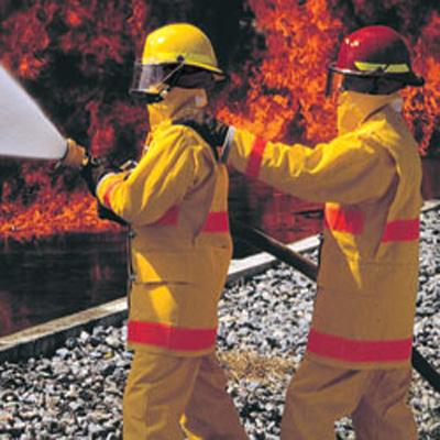 Bullard FX Series fiberglass structural fire helmet