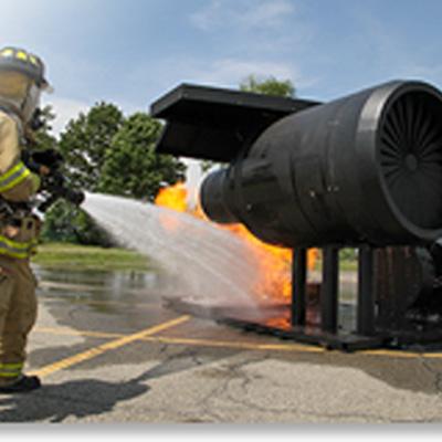 BullEx Aircraft Wing Fire Training Prop