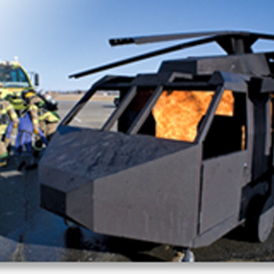 BullEx HELICOPTER FIRE TRAINING PROP