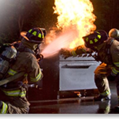 BullEx Modular Fire Training Prop