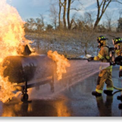 BullEx Pressure Vessel Fire Prop