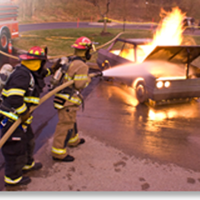 BullEx Vehicle Fire Training Prop