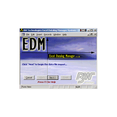 BW Technologies Excel Datalog Manager software
