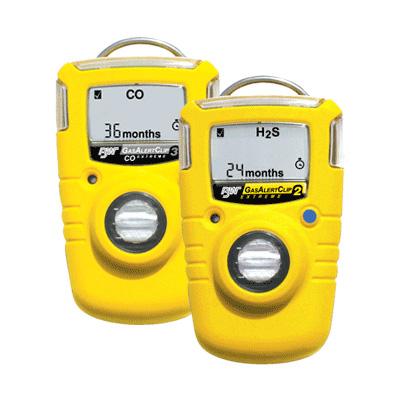 BW Technologies Gas AlertClip Extreme gas detector