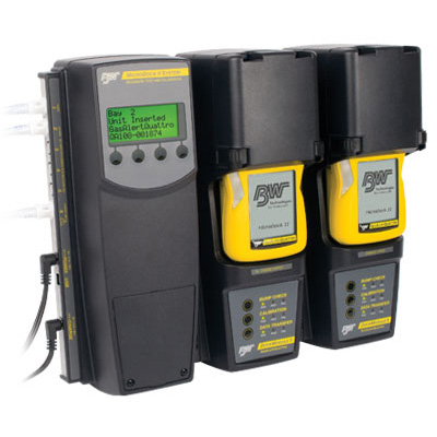 BW Technologies MicroDock II calibration and bump test management
