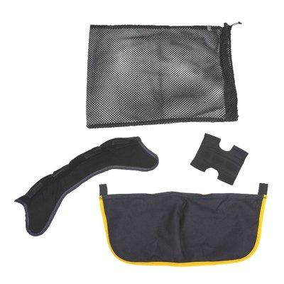 MSA 10187690 PBI/Kevlar Ear Cover And Liner, Ratchet And Crown Pads, Laundering Bag (For Medium N5A And N6A)
