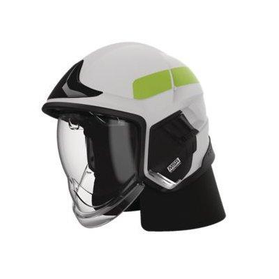 MSA GYL1018500000-BU16 Cairns XF1 Fire Helmet, Large, Matte White