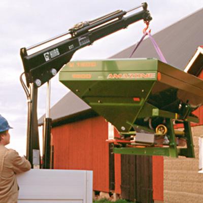 Cargotec Germany 017 T-2 compact loader crane