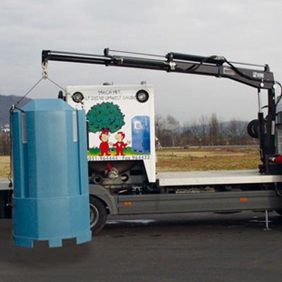 Cargotec Germany 033 T-3 lifting capacity of 2.5 tonnes