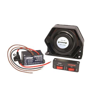 Carson HPK-150 under hood waterproof stutter horn system