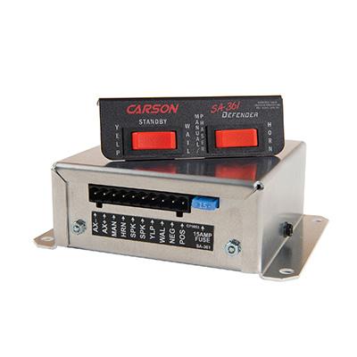 Carson SA-361 defender siren rescue vehicle remote siren