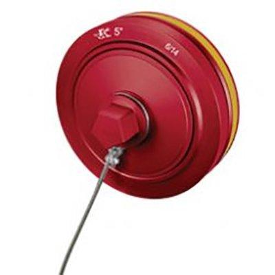 """Kochek CC407-008 4"""" Hydrant Storz Cap with Cable"""