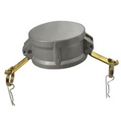 "Kochek CC254 2 1/2"" Camlock Cap with Chain"