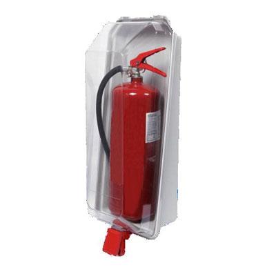 Cervinka 0109 crystal box for fire extinguisher