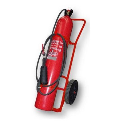 Cervinka 0121 30kg mobile fire CO2 extinguisher