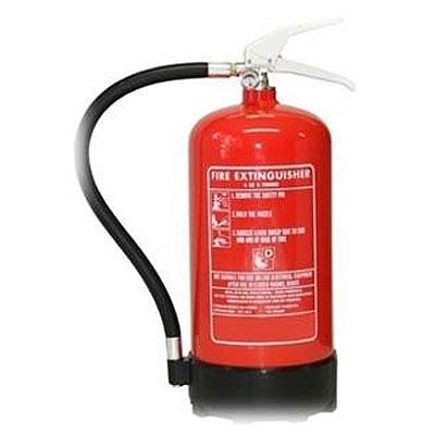 Cervinka 0133 portable fire powder extinguisher