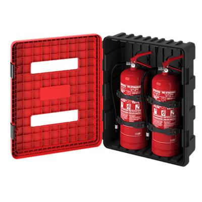 Cervinka 0189 plastic box for fire extinguisher