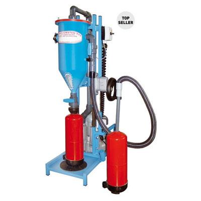 Cervinka PFF-FLIPP-EK(W) filling and service machine for fire extinguishers